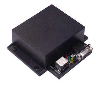 zelfbouw APRS modem.